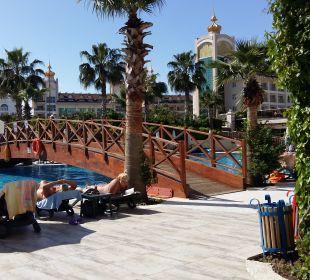 Pool Hotel Side Crown Palace