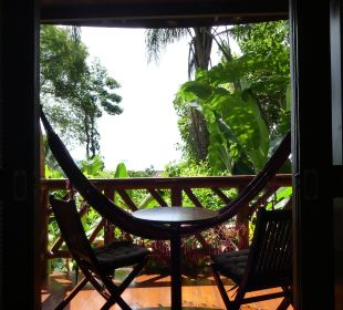 Ausblick aus dem Zimmer aufs Meer Hotel Pousada Naturalia