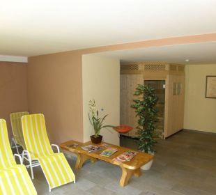 Saunabereich Naturpark Hotel Stefaner