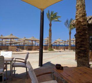 Aus dem Beachrestaurant Hotel Iberotel Makadi Beach
