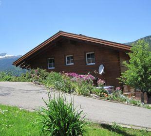 Ausblick von der Ferienwohnung Hotel Alpenhof Jäger