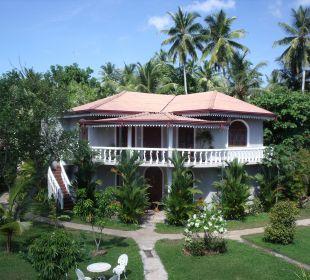 Einer der Bungalows Bougain Villa