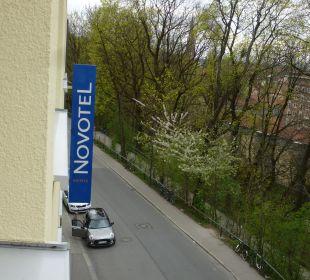 Ausblick Hotel Novotel München City