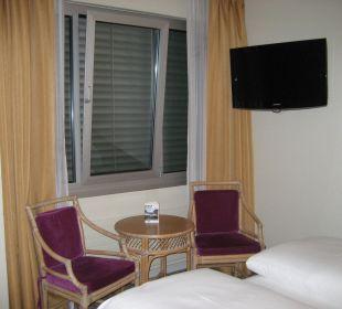 Sitzgelegenheit mit TV Hotel Meierhof