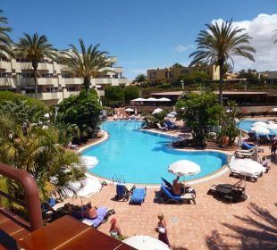 Hotelinnenhof mit Pool Hotel Barceló Corralejo Bay
