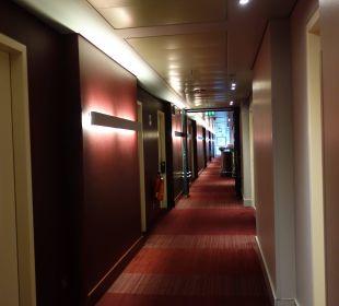 Flur im 5.Stock Radisson Blu Hotel Köln