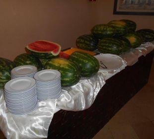 Abendbuffet Hauptrestaurant Hotel Fiesta Beach Djerba