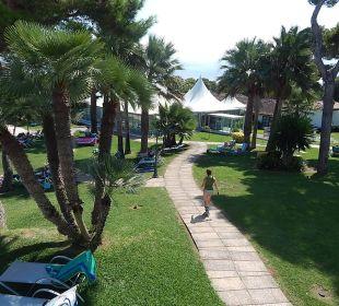 Ausblick aus Zimmer 1226 Aparthotel Esperanza Park