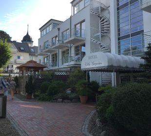 Außenansicht Hotel Villa Gropius