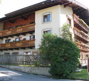 Seitliche Ansicht Hotel Klausenhof