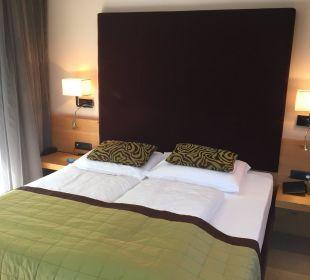 Schlafbereich Hotel La Maiena Meran Resort