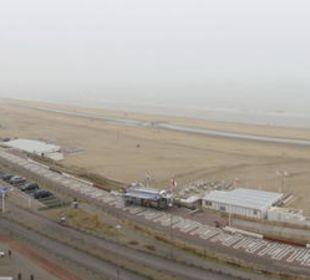 Strand von Zandvoord aus dem Zimmer Center Parcs Park Zandvoort Strandhotel