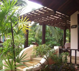 Unsere Villa Nr.2140 mit Poolblick Hotel Mukdara Beach Villa & Spa Resort