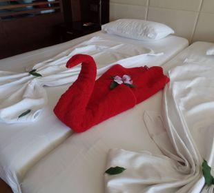 Dekoration mit eigenen Handtüchern Sensimar Side Resort & Spa