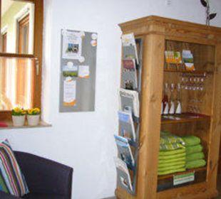 Eingangsbereich Gästezimmer Fewos Familie Neubert