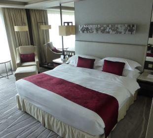 Doppelbett InterContinental Hotel Grand Stanford Hong Kong