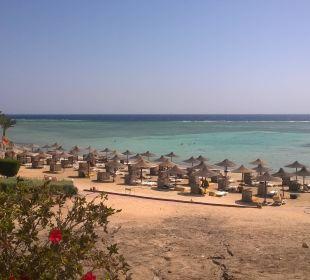 Schöner Strand, Mittig die Badezone