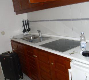 Alles was Mensch brauch in der Küche. Bungalows & Appartements Playamar