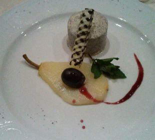 Beispiel für das Abendessen Hotel Monika