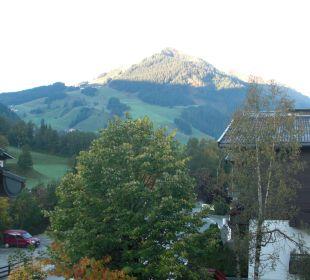 Blick vom Balkon Talheimer Grias di & Hoamat