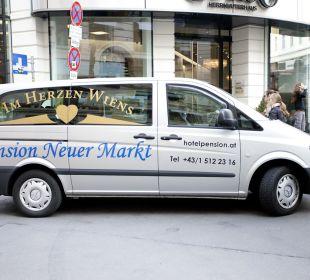 Shuttlebus Pension Neuer Markt
