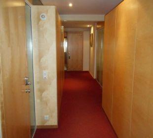 Hotelflur Speicher Barth  Designhotel