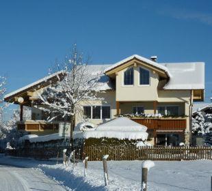 Der erste Schneefall Mein Landhaus
