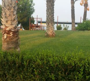 Die Anlage ist sehr gepflegt. Oz Hotels Incekum Beach