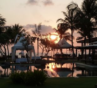 Abendstimmung The Samaya Bali - Seminyak