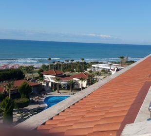 Blick zum Strand Hotel Alba Royal