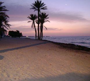 Plaża - wschód słońca Hotel Sidi Slim