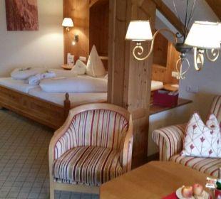 Juniorsuite A+ Hotel Post Lermoos