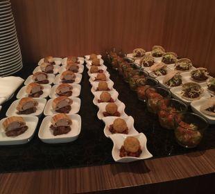 Abend-Snacks im Club Sofitel Hotel Sofitel Berlin Kurfürstendamm