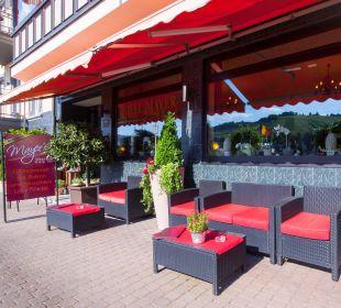 Terrasse Hotel Weinhaus Mayer