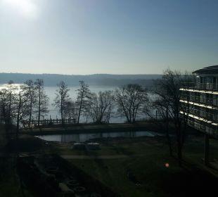 Blick auf den See Kongresshotel Potsdam am Templiner See