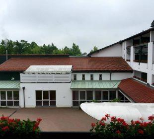 Hotelzufahrt Quellness Golf Resort - Das Ludwig