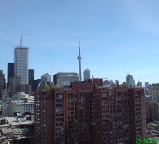 Ausblick Dachterrasse Delta Chelsea Toronto