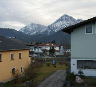 Die Berge vorm Haus Gasthof Romantik Krone
