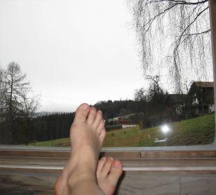Just Relax.. Ausblick im Spa Hotel Winzer Wellness & Kuscheln
