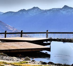 Weiterer Außenpool als Naturpool Alpin & Relax Hotel Das Gerstl