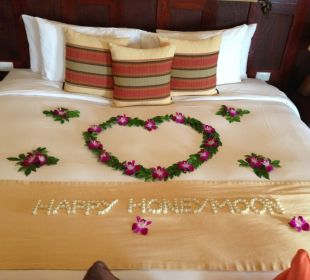 Honeymoon welcome Belmond Napasai