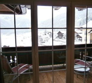 Balkon Hotel Post Lermoos