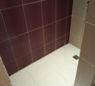 Große, saubere Dusche