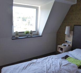 Das ganze Zimmer wurde liebevoll dekoriert Hotel Weinhaus Mayer
