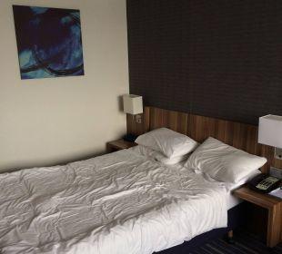Das weiche Bett Hotel Holiday Inn Express Hamburg City Centre