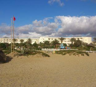 Hotelansicht vom Meer Hotel Vincci Marillia