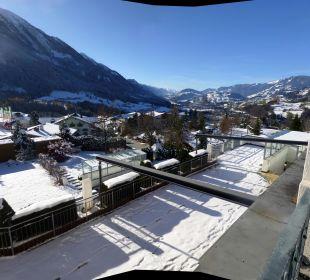 Blick ins Salzachtal Sonnhof Alpendorf