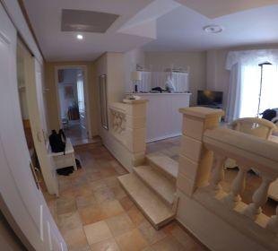 Wohnbereich Zimmer 1214 Hotel Lago Garden