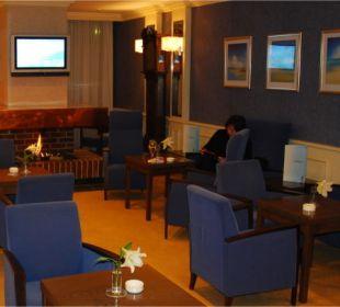 Raucherlounge in der Lobby Hotel Neptun