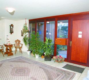 Eingangsbereich Haus Mühlentrift